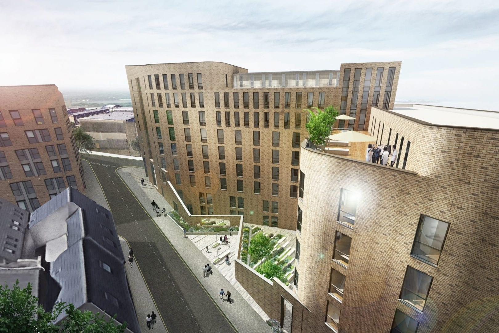 Allen Street, Sheffield - Warden Construction