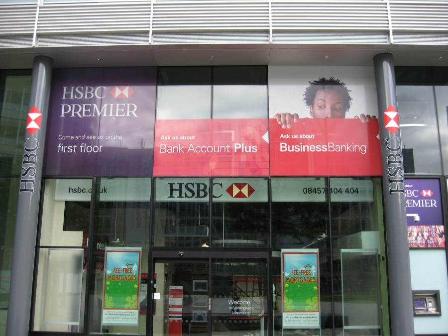 HSBC, Spinningfields