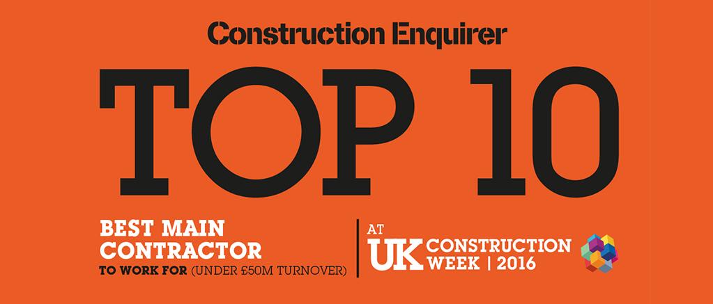 Construction enquirer Top 10